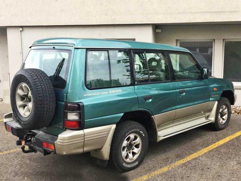 MITSUBISHI Pajero 2,8 TDI W GLS SUV Gelaendewagen Diesel 2001 manuell 230000km 125PS 2835ccm 2234kg 12,4L
