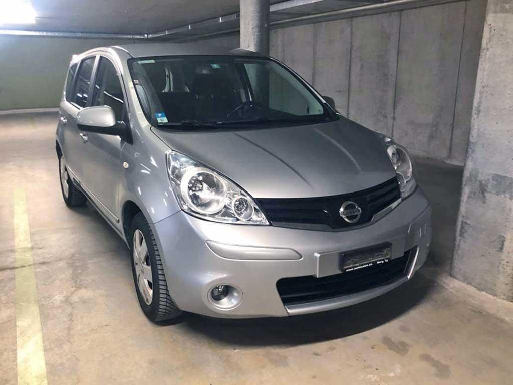 NISSAN Note 1,5 dCi tekna Kompaktvan Minivan Diesel 2010 132000km 103PS 1462ccm 1320kg 5,1L