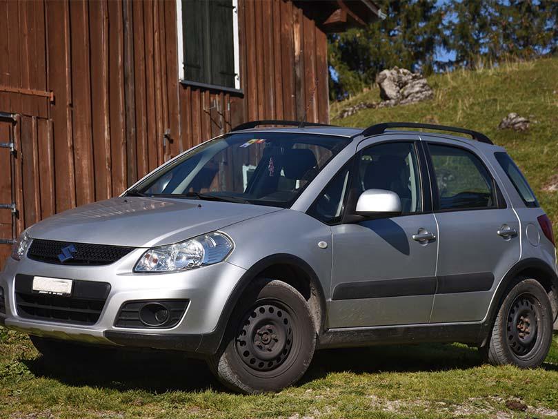 SUZUKI SX4 1.9 TD GL 4WD 2007 160000km Diesel 1910ccm 120PS 1400kg