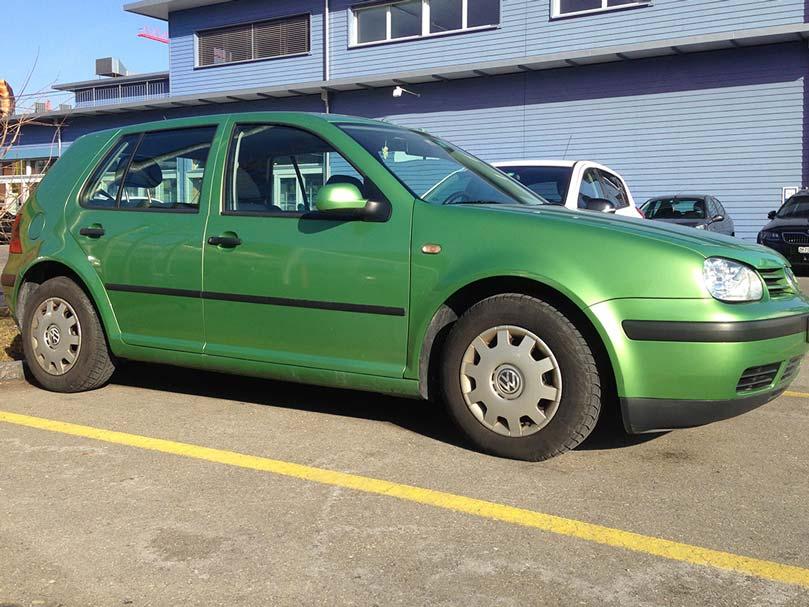 VW Golf 2.0 FSI Comfortline 2007 148PS Benziner 1984ccm Gruen 202000km 8,6L Typenschein 1VD366