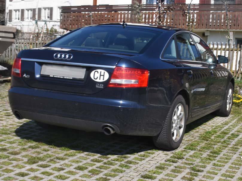 Audi A6 2,8 Automat stufenlos 138000km 220PS 2773ccm 2011 6Zylinder 1660kg 8,6L