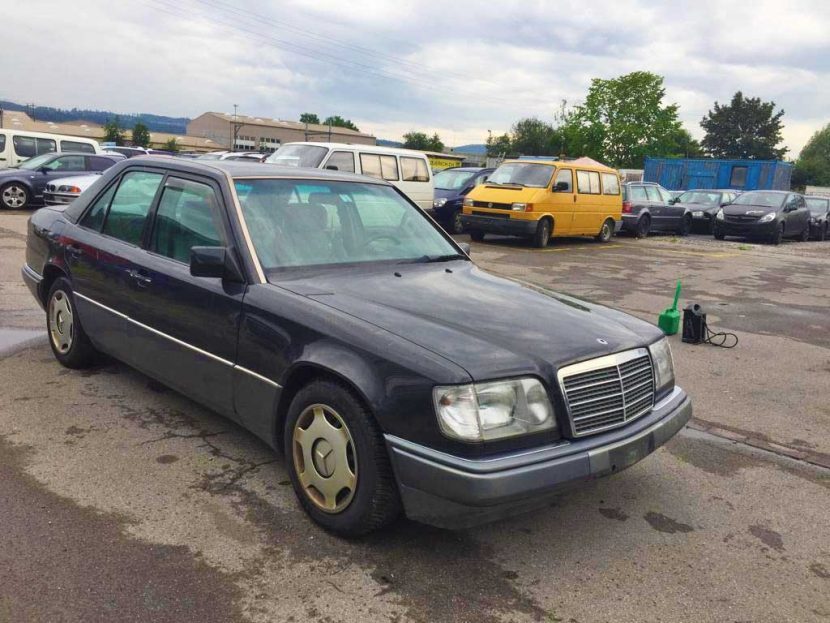 MERCEDES-BENZ E 500 Limited Automatic Limousine 1994 Benziner Automat 253000km 8Zylinder Hinterradantrieb 4971ccm 1740kg 320PS EuroNorm1