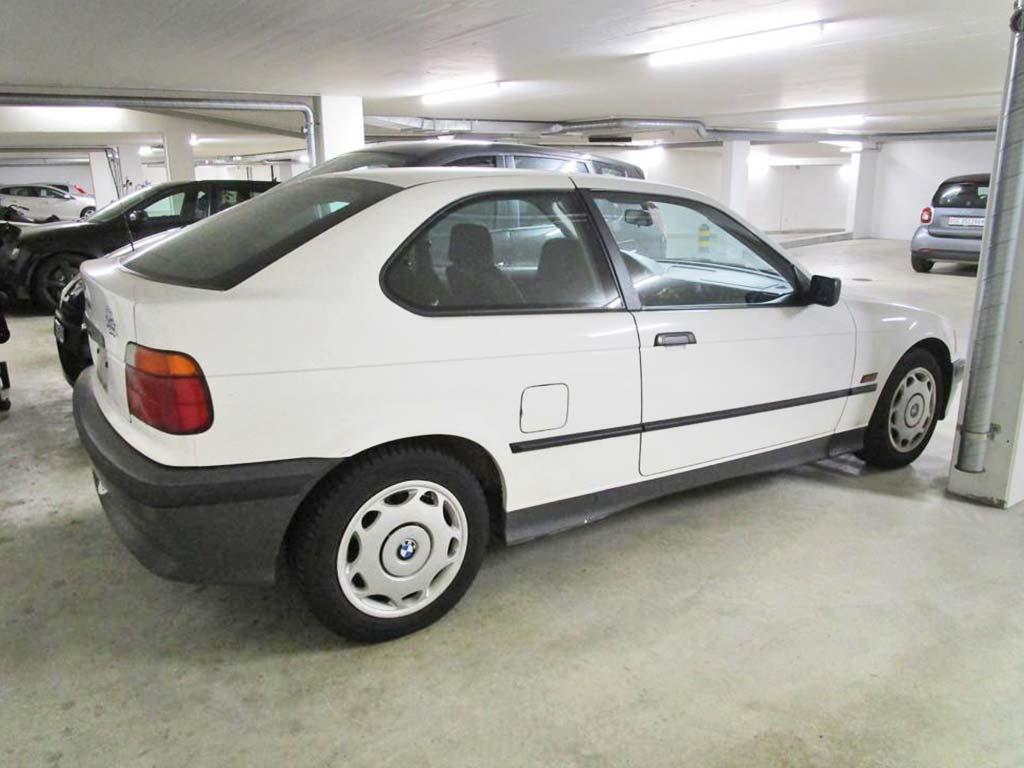 BMW 316 Compact 1997 Benziner Automat 187000km 1796ccm 115PS 1390kg 7,0L weiss