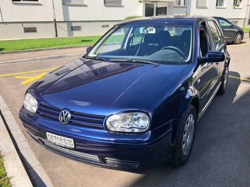 VW Golf 2,3 Highline Limousine 2001 Benziner manuell 170PS 2324ccm 208000km 5Zylinder EuroNorm4