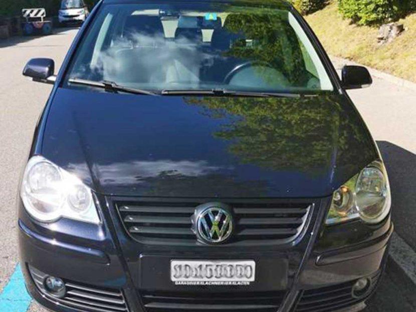 VW Polo 1,4 16V Sportline Automatic Kleinwagen Benziner 152000km 80PS 1390ccm 1266kg 6,8L schwarz