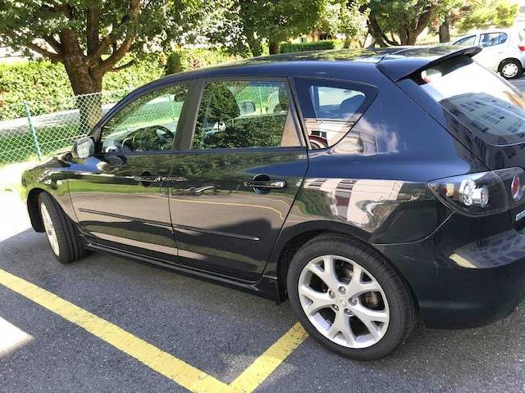 MAZDA 3 1,6 16V Exclusive Limousine 2008 Benziner 105PS 1598ccm 135000km 1280kg 6,9L