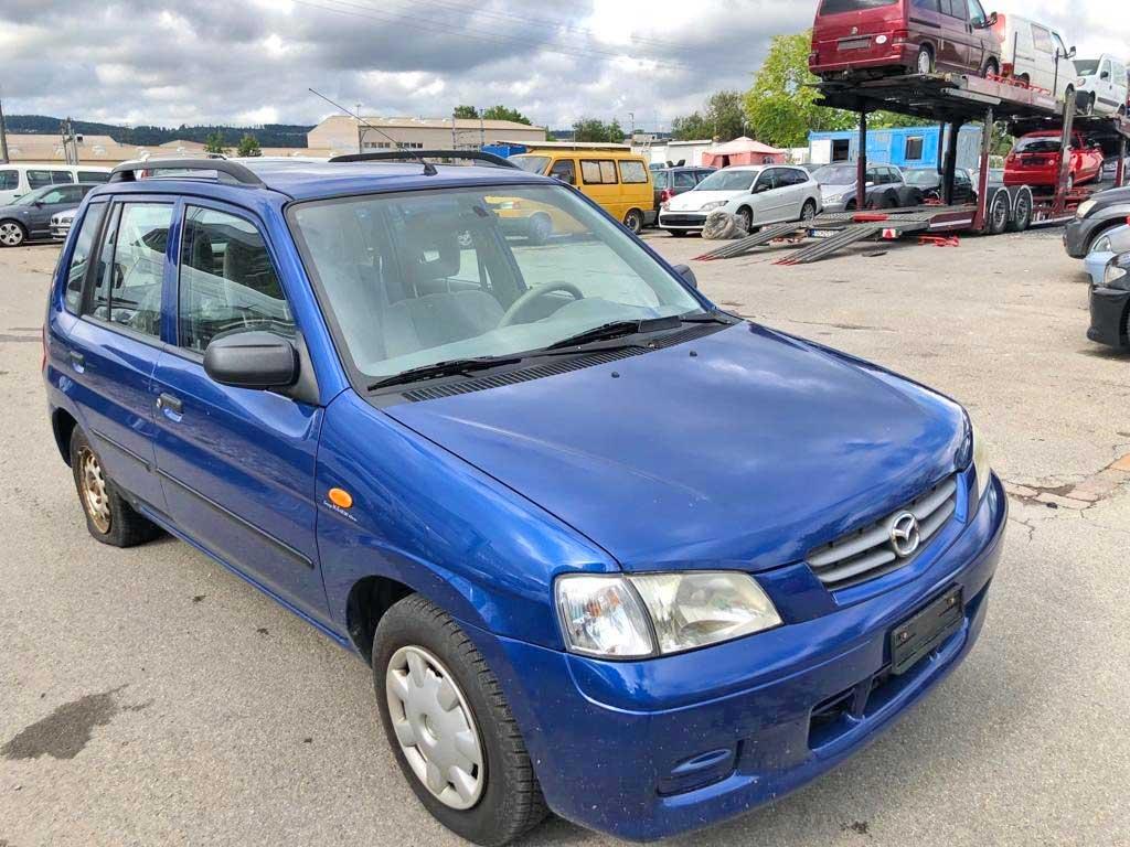 MAZDA Demio 1,5i-16 Blue ABS 2002 Benziner 75PS 1498ccm 1156kg 174000km 7.2L