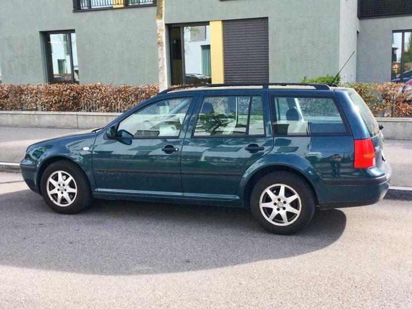 VW Golf Variant 2,0 Comfortline Kombi 2001 Benziner 115PS 1984 183000km 1420kg EuroNorm4
