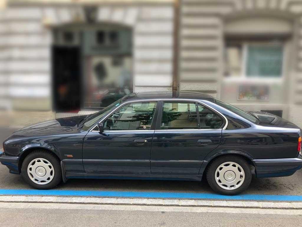BMW 740i Limousine Benziner 1997 Automat 252000km 260PS 4398ccm 8zylinder EuroNorm2 1925kg