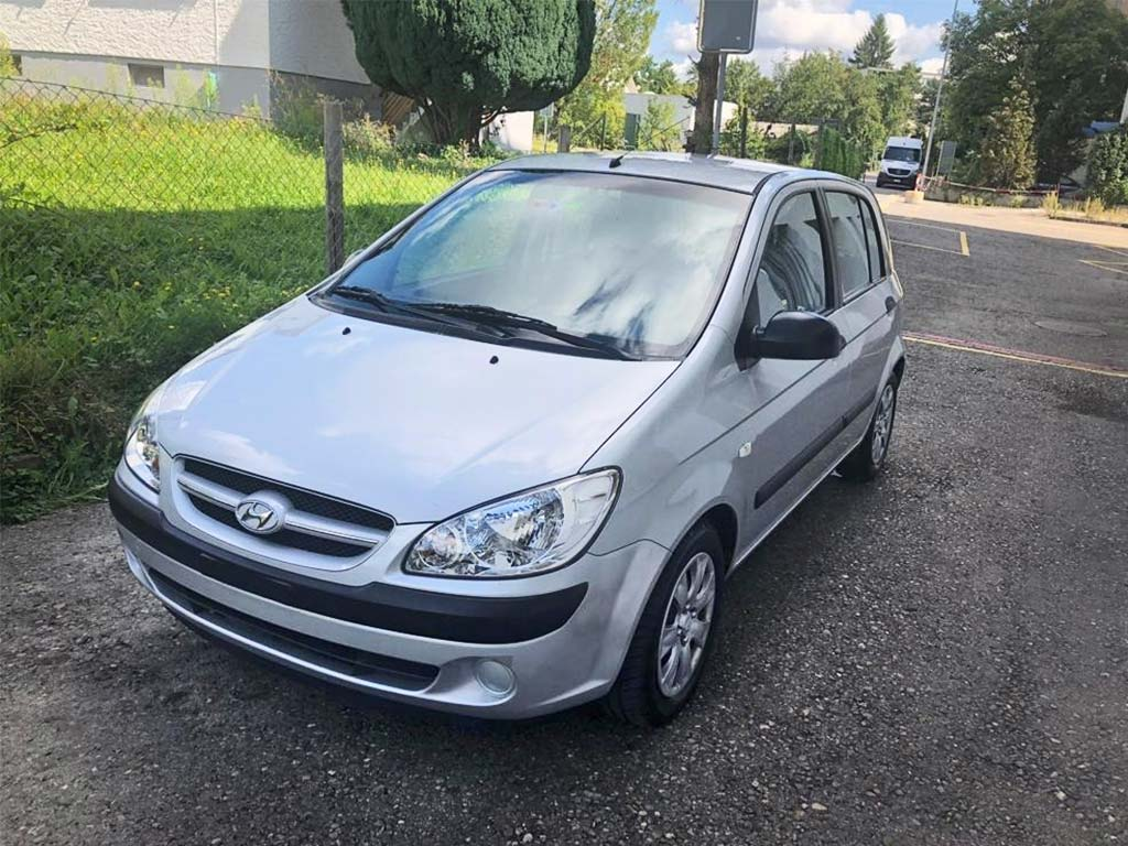 HYUNDAI Getz 1,5 CRDi Premium Kleinwagen Diesel 2007 178000km 1493ccm 1270kg 110PS 1HB626 5,4L