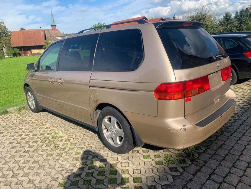 Honda Odyssey Minivan 2004 Benziner 2,4L 160PS 119kW K24A i-VTEC-Motor 4780mm 1829mm EuroNorm1 249000km