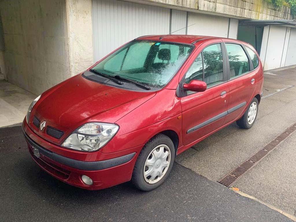 RENAULT Scenic 2,0 16V Authentique Confort Kompaktvan 2003 Benziner manuell 135PS 1650kg 1998ccm 187000km 8,0L