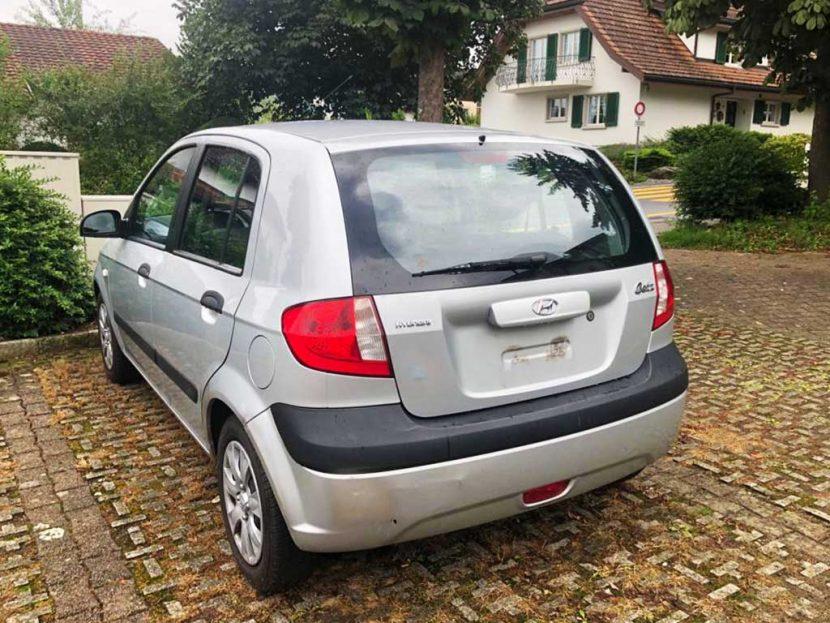 HYUNDAI Getz 1,4 Comfort Kleinwagen 2007 Benziner Manuell 138000km 97PS 1399ccm 1188kg 6,5L