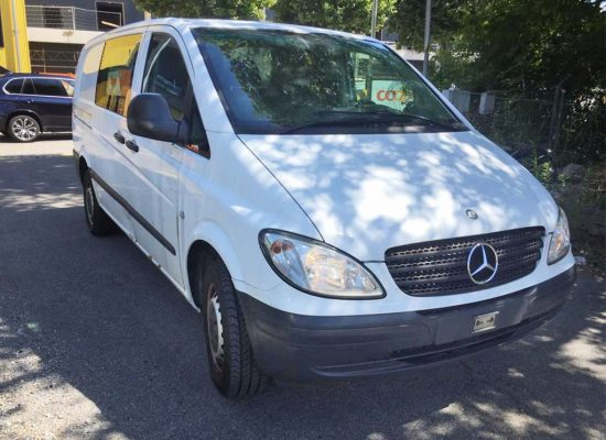 MERCEDES-BENZ Vito 115 CDI 150PS 2006 Diesel manuell 256000km 2148ccm 2340kg 9,4L weiss