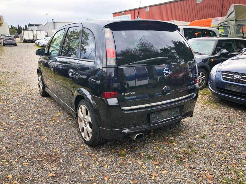 OPEL Meriva 1,6i 16V Turbo OPC Kompaktvan 2008 Benziner manuell 14400km 180PS 1598ccm 1450kg
