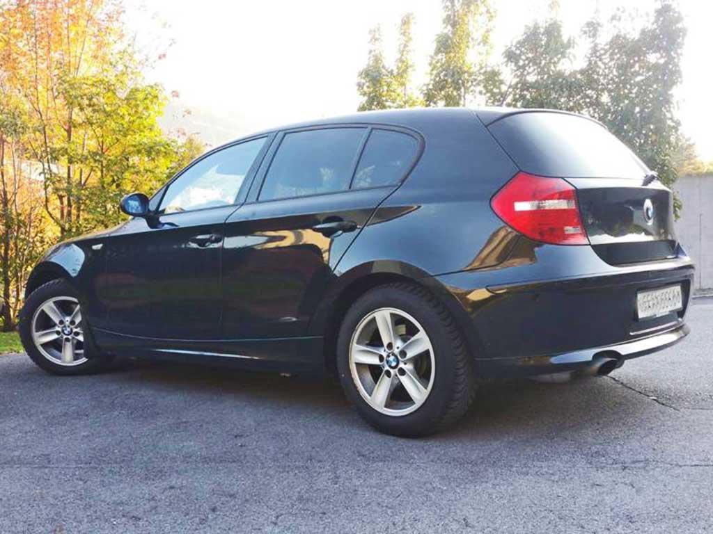 BMW 120d Limousine Diesel 2009 Automat 140000km 1595ccm 177PS Hinterradantrieb 1440kg 1BB518 5,1L