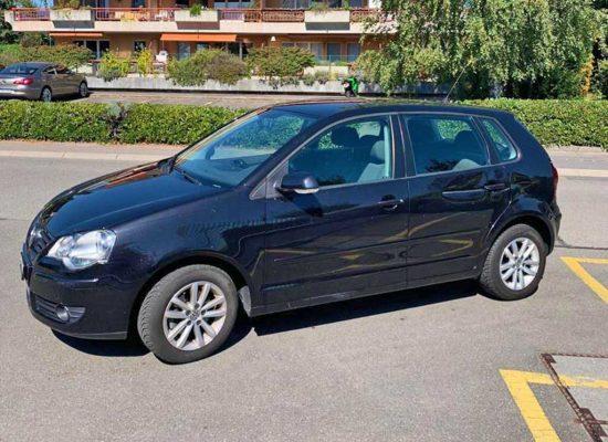 VW Polo 1,6 16V Comfortline Kleinwagen 2008 Benziner manuell 153000km 105PS 1598ccm 1330kg 6,2L schwarz