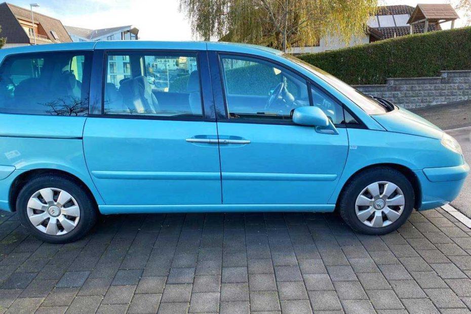 CITROEN C8 2,0i 16V Kompaktvan 2007 Benziner Automat 214000km 140PS 1997ccm 7Sitze 1818kg 9L