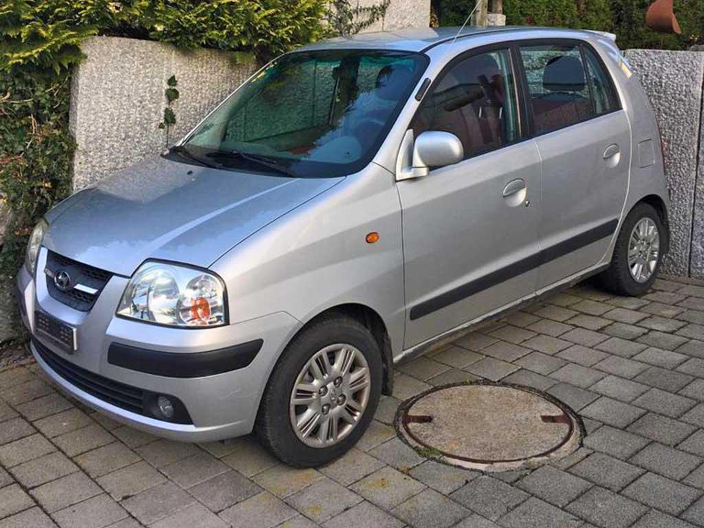 HYUNDAI Atos Prime 1,1 Comfort Kleinwagen 2007 Benziner manuell 1086ccm 63PS 129000km 1020kg 5,7L