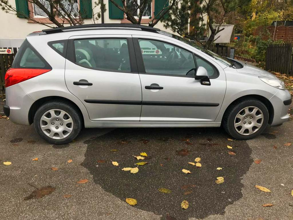 PEUGEOT 207 SW 1,6 Sport Kombi Benziner Automat 2007 110PS 1560ccm 1430kg 5,5L