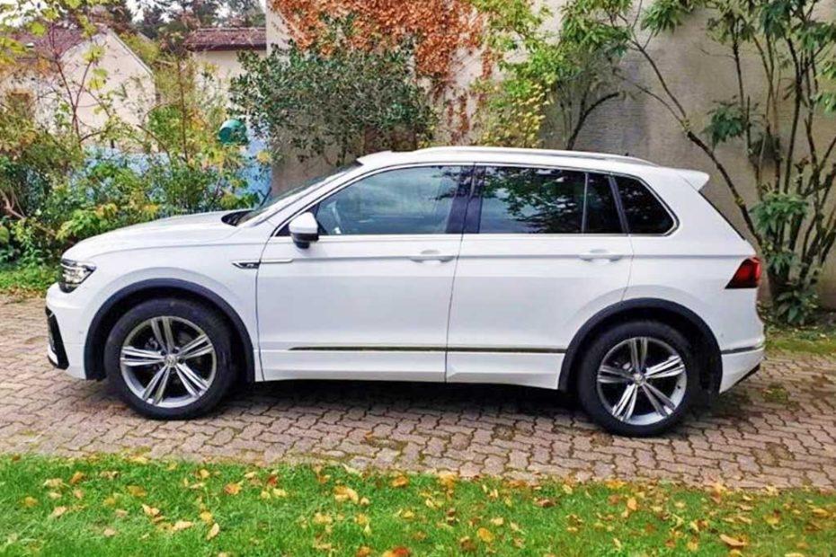 VW Tiguan 2,0TDI High 4M SUV Gelaendewagen 2017 Diesel Automat 78000km 150PS 1968ccm Allrad 1916kg