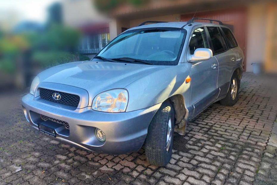 HYUNDAI Santa Fe 2,0 CRDi GLS SUV 2004 Diesel Automat 182000km 145PS 1991ccm 1890kg 1HB579