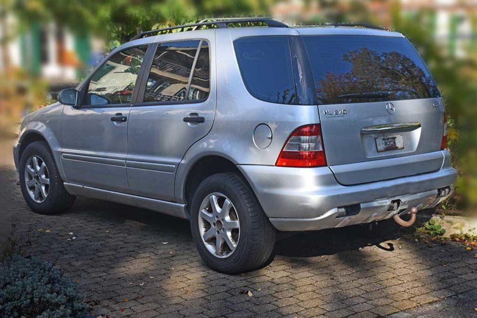 MERCEDES-BENZ ML 270 CDI SUV Gelaendewagen 2004 163PS Automat Diesel Allrad 2685ccm 5Zylinder 2240kg