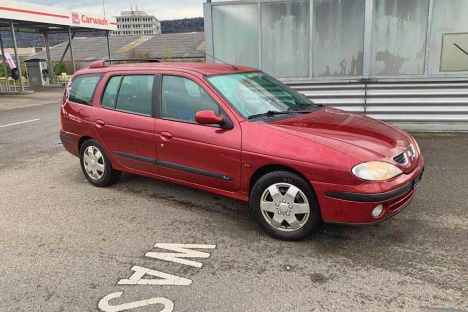 RENAULT Megane Break 1,6 16V RSi Kombi 2002 Benziner Automat Kombi Bordeaux-Rot 220000km 108PS 1598ccm 1RA329 EuroNorm3
