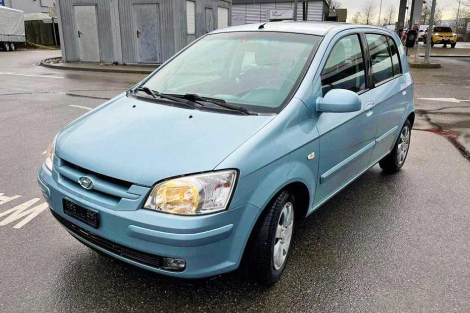 Hyundai Getz 1,6 Premium Kleinwagen 2008 Benziner manuell 188000km 106PS 1599ccm 1220kg