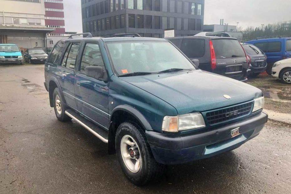 OPEL Frontera 2,4i Arctis SUV Gelaendewagen 1995 Benziner Automat 4x4 210000km 125PS 2409ccm 1O5116 1820kg