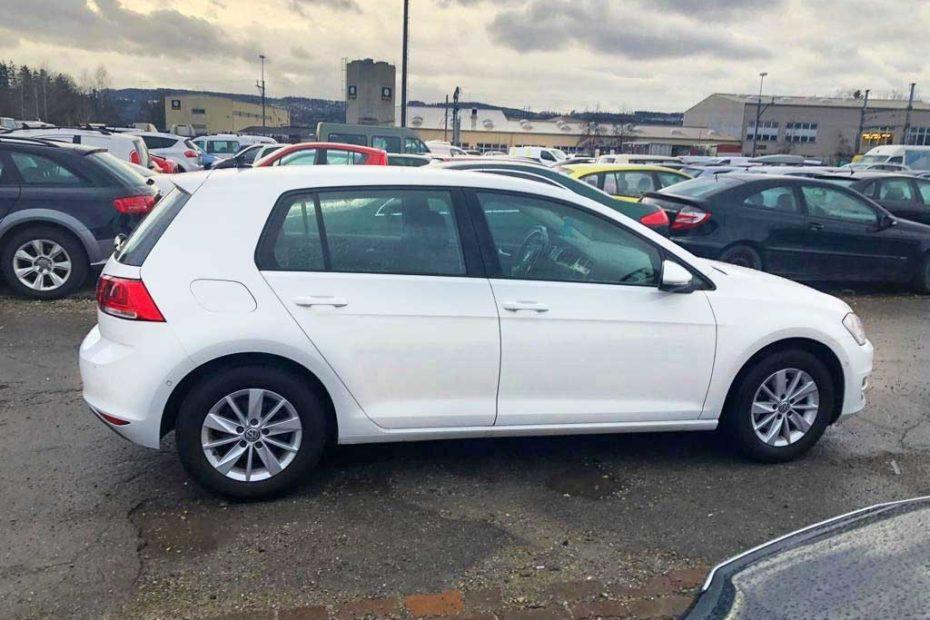 VW Golf 1,4 TSI Highline Kompakt-Limousine 2013 Benziner manuell 155000km 122PS 1395ccm 1270kg 5,2L