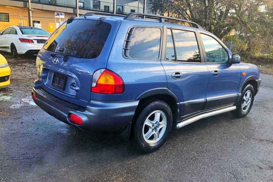 HYUNDAI Santa Fe 2.7 V6 GLS SUV Geländewagen 2003 Automat Benziner 173PS 2656ccm 6Zylinder Allrad 1858kg