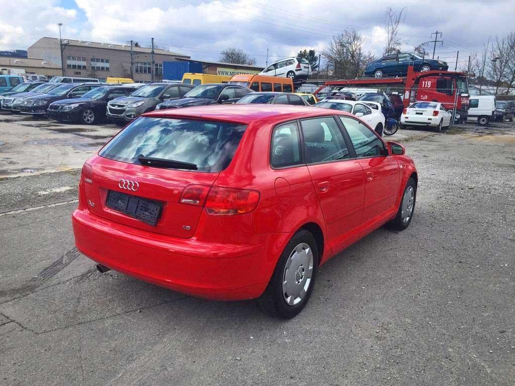 AUDI A3 Sportback 1,8 TFSI Ambition Limousine Benziner 2007 manuell 186000km