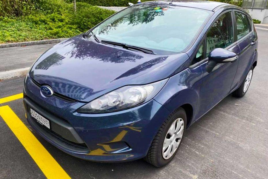 FORD Fiesta 1.6 16V Titanium Kleinwagen 2011 Benziner manuell 132000km 120PS 1596ccm 1050kg