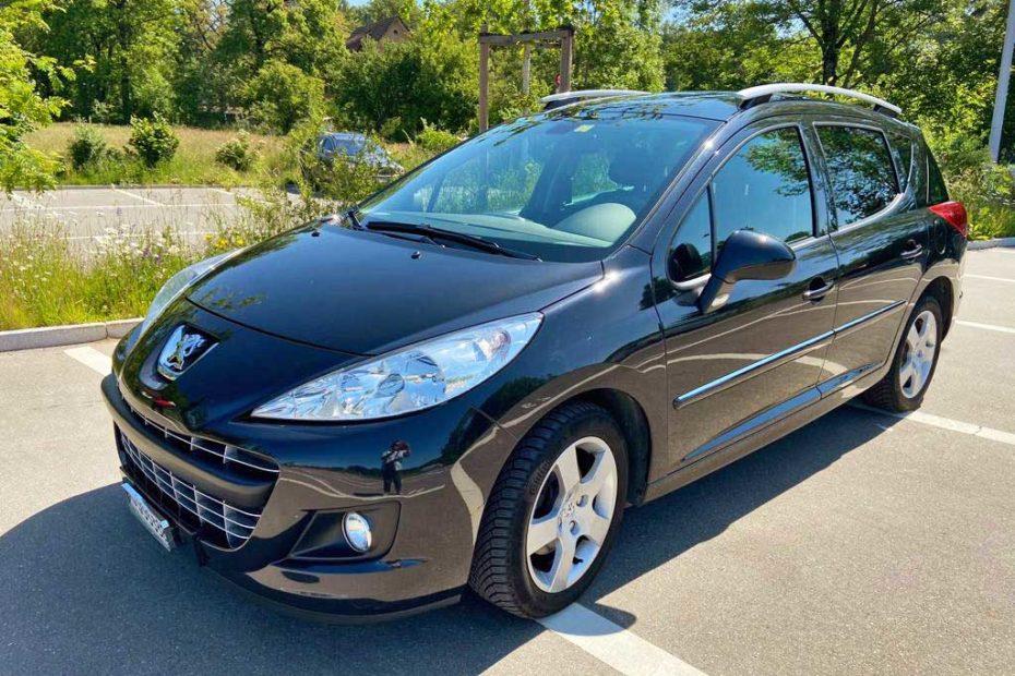 PEUGEOT 207 SW 1.6 16V Allure Kombi 2013 manuell Benziner 161000km 120PS 1598ccm 1PB165 1380kg