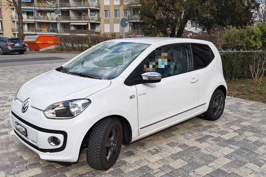 VW Up 1.0 white up Kleinwagen 2012 Benziner manuell 75PS 999ccm 932kg 1VE198 87000km