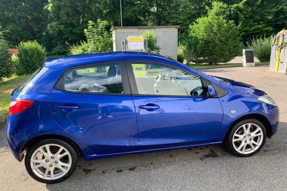 MAZDA 2 1.5i 16V Sport Kleinwagen Benziner 2010 103PS 1498ccm 1030kg 132000km