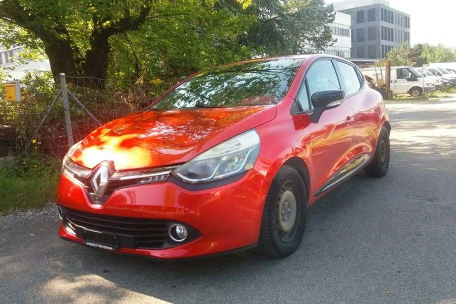 Renault Clio Diesel 2013 90PS 1461ccm 1RB612 122567km 1308kg Rot